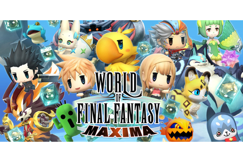 WORLD OF FINAL FANTASY MAXIMA | Nintendo Switch download ...
