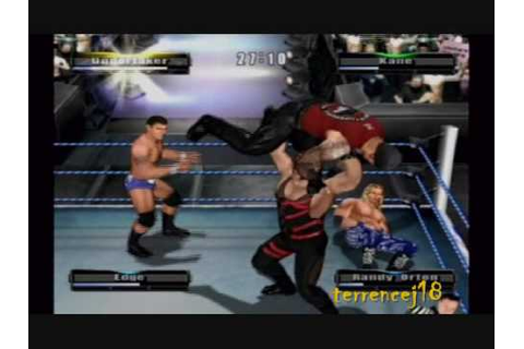 WWE Wrestlemania XIX Game (Fatal 4-way - Undertaker, Kane ...