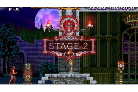 Castlevania: The Adventure ReBirth (WiiWare) Game Clear ...