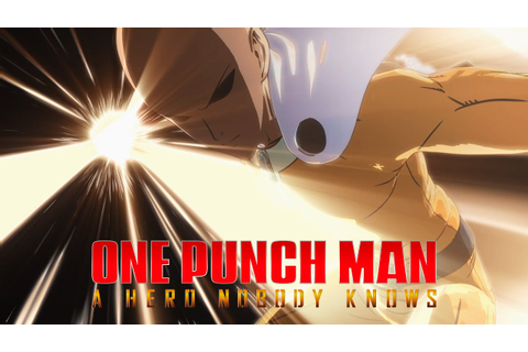 ONE PUNCH MAN: A HERO NOBODY KNOWS - Announcement Trailer ...