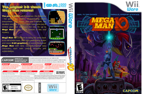 Video Game Log and History: Mega Man 10 (March 1, 2010)