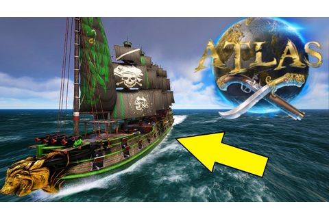 How To Build & Paint An Epic Galleon! Atlas Pirate MMO ...
