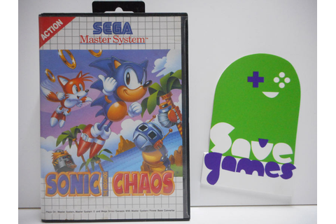 Sonic The Hedgehog Chaos - Save Games