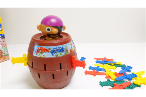 Tomy Super Pirate - Pop Up Pirate Game - YouTube