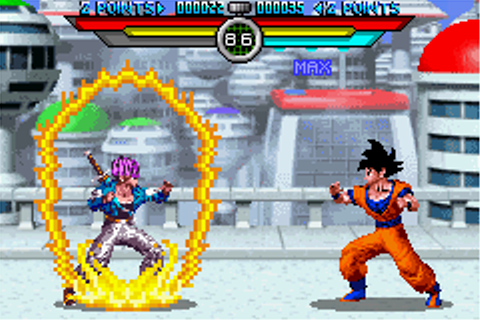 Play Dragon Ball Z – Taiketsu Online - Play All Game Boy ...
