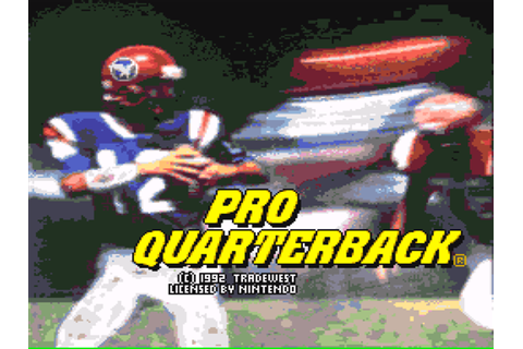 Pro Quarterback Download Game | GameFabrique