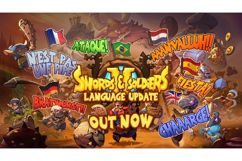 Swords & Soldiers II - version 1.1 update out now, adds ...