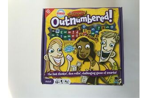 Outnumbered Game by DICEcapades Ages 12+, 3-6 Players, 30 ...