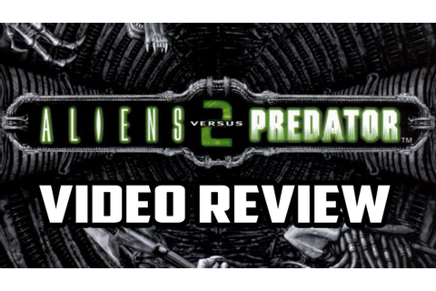 Aliens Versus Predator 2 PC Game Review - YouTube