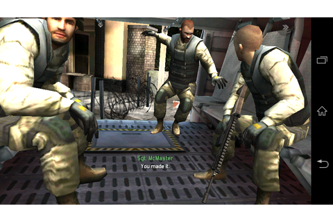 Modern Combat 3: Fallen Nation v1.1.4g APK | Android free ...