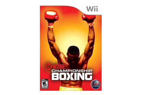 Showtime Championship Boxing Wii Game - Newegg.com