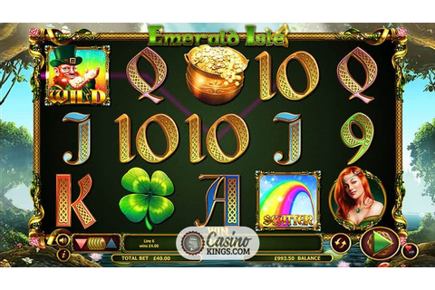Emerald Isle Slot | Up To £100 Welcome Bonus | Casino ...