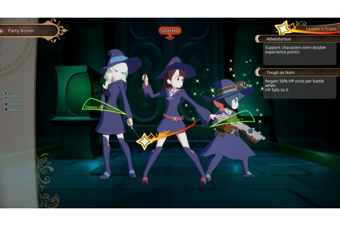 Little Witch Academia: Chamber of Time English screenshots ...