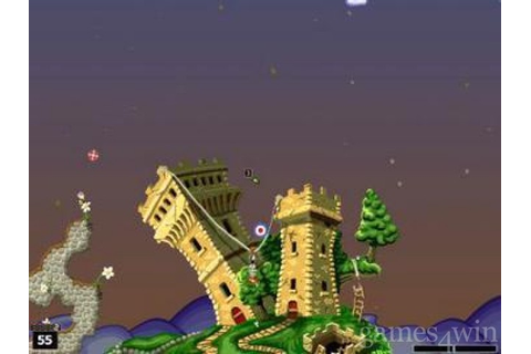 Worms World Party Download on Games4Win