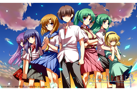 Higurashi no naku koro ni (When they cry) – Anime reviews