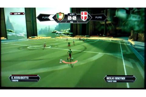 Pure Football Playstation 3 Gameplay - YouTube