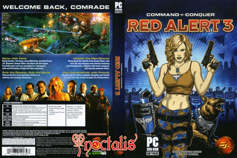 COMMAND AND CONQUER : RED ALERT 3 UPRISING ~ Movie-Game ...