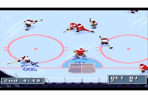 NHL 95 SNES Gameplay HD - YouTube