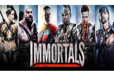 WWE Immortals: The Game for WWE Lovers
