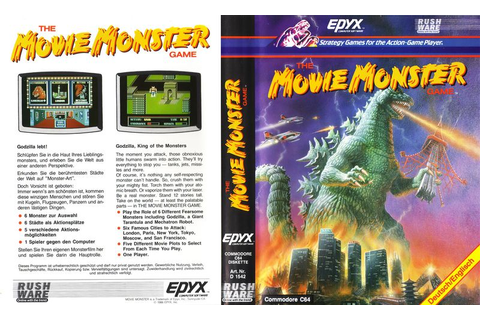 The Movie Monster Game - C64-Wiki