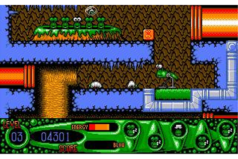 Steg The Slug Download (1993 Arcade action Game)