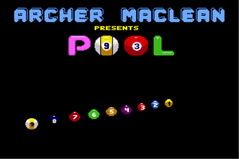 Download Archer Maclean's Pool - My Abandonware