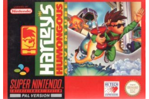 Buy Super Nintendo Harleys Humongous Adventure For Sale at ...