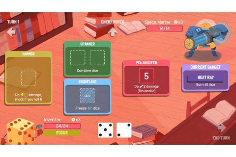 Review: Dicey Dungeons