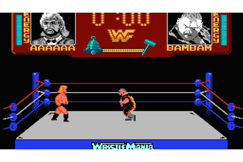 WWF WrestleMania (1989 video game) - YouTube