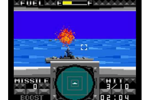 G-LOC: Air Battle (1990) (SEGA) (Game Gear) - YouTube