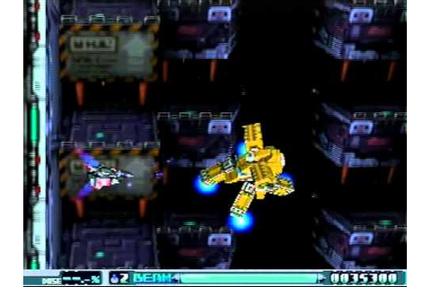 R-Type Delta: (RX-13) Stage 4 No Force + Boss Escape - YouTube