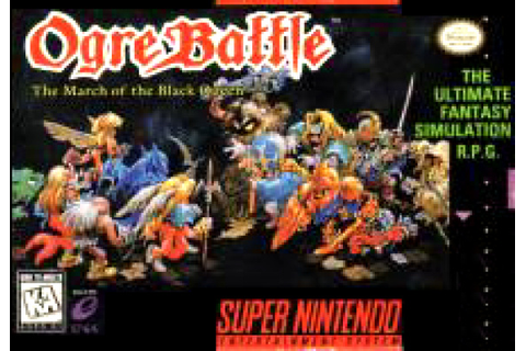 Ogre Battle: The March of the Black Queen Review - SNES ...
