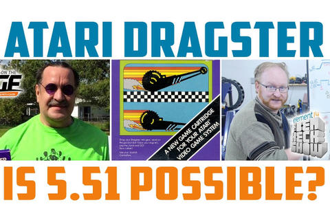 Atari Dragster World Record Part 1: Building the Hardware ...