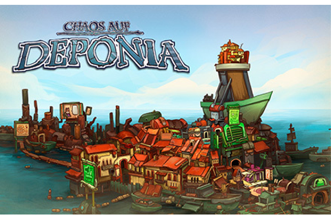 Deponia 2: Chaos on Deponia | wingamestore.com
