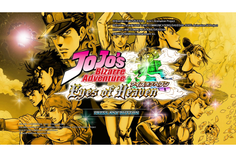 REVIEW: JoJo's Bizarre Adventure: Eyes of Heaven - oprainfall