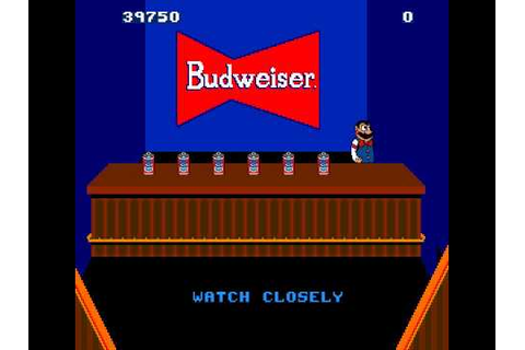 Arcade Game: Tapper/Root Beer Tapper (1983 Midway) - YouTube