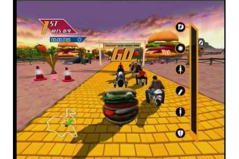 Burger King Pocket Bike Racer Battle Royale mode - YouTube