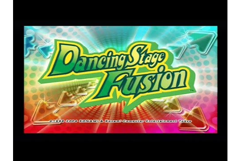 "[Ps1] Introduction du jeu ""Dancing Stage Fusion"" de l ..."