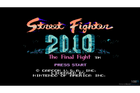 Street Fighter 2010: The Final Fight - Game - Nintendo ...