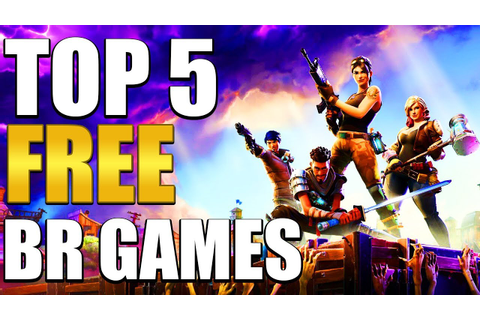 TOP 5 Free Battle Royale Games - YouTube