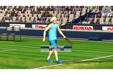 Virtua Tennis: World Tour Gameplay Tournament (PSP) - YouTube