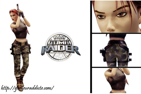 [Commande] – Statue Taille reel Tomb Raider l'ange des ...
