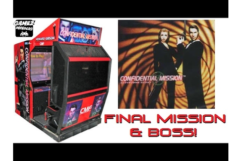 SEGA's Confidential Mission! Rare Arcade Light Gun Game ...