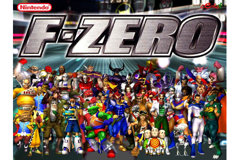 The characters of F-Zero GX | Video Games | Wallpaper ...