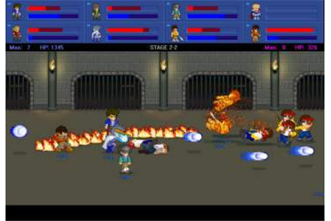 Caiman free games: Little Fighter 2 by Marti Wong and ...