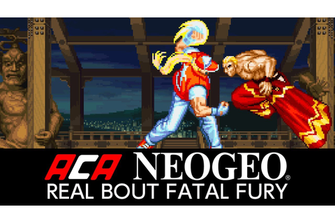 Real Bout Fatal Fury is next week's NeoGeo game on Switch ...