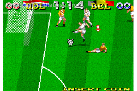 Tecmo World Cup '94 - Arcade - Games Database