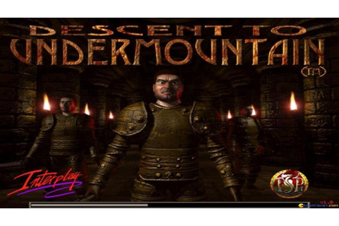 Descent to Undermountain gameplay (PC Game, 1998) - YouTube