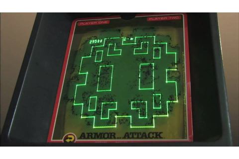 Classic Game Room HD - ARMOR ATTACK for Vectrex review ...