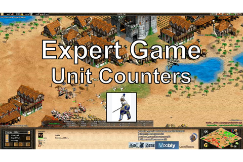 Aoe2: Expert Game - Mindgames & Counters - YouTube
